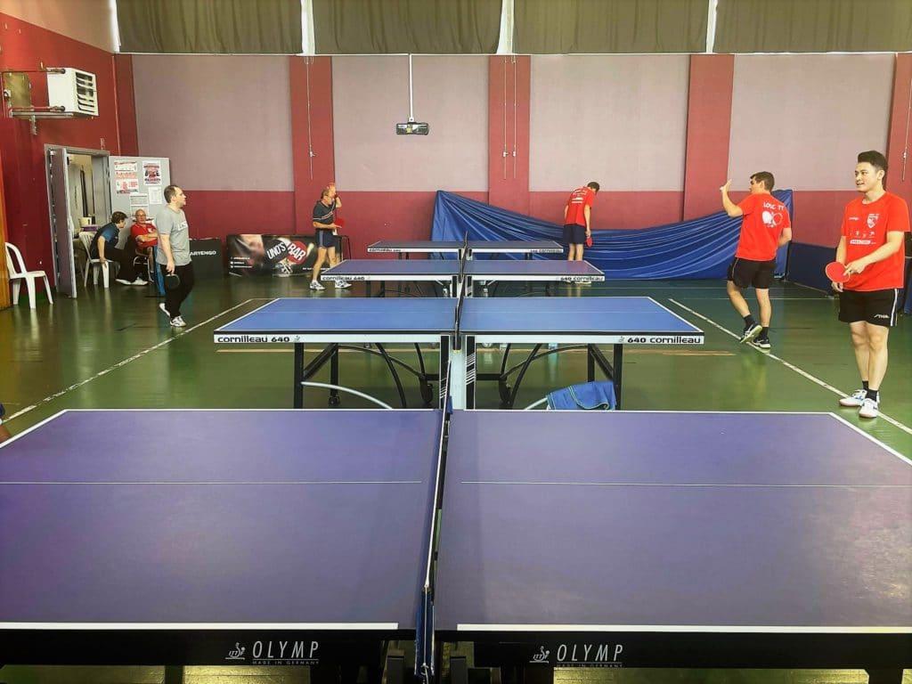 Salle tennis de table lille